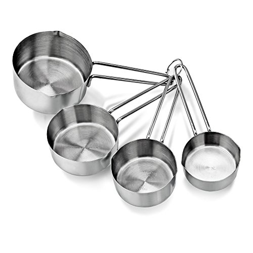new star foodservice 42917 stainless steel 4pcs measuring