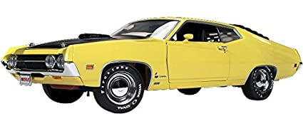 Ford Torino Cobra  Cj Hemmings Bright Yellow Limited Edition Pc   By