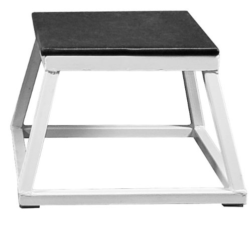 Plyometric Platform Box Set- 12'',18'',24'' White by Ader Sporting Goods (Image #1)