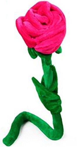 Flor The Win de peluche flexible, color azul, hot pink, 40 cm