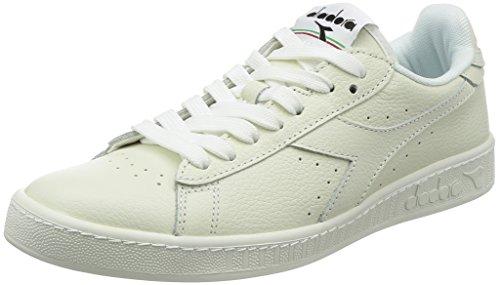 DIADORA Women Game L Low Tennis Shoes C1880-Wht-White-Blk
