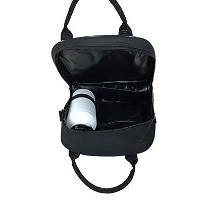Disney Star Wars Black Kylos & Storm Trooper Lunch Bag with Water Bottle & Adjustable Shoulder Strap: Kitchen & Dining