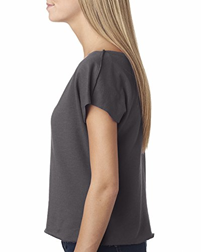 Next Level - Camisas - para mujer Gris - Dark Gray