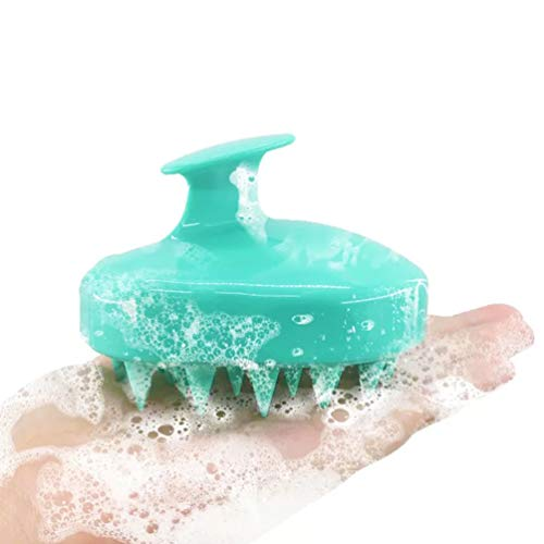 Hair Scalp Massager Shampoo Brush, Scalp Massage Brush Soft Silicone Comb for Men, Women, Kids and Pet, Wet & Dry. ()