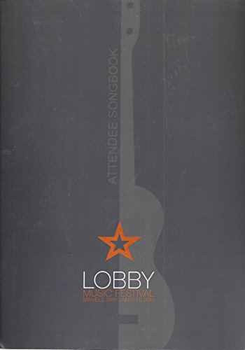 - Lobby Music Festival Manele Bay Lanai HI 2013 Attendee Songbook