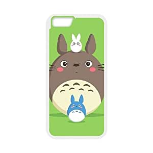 Hjqi - DIY My Neighbor Totoro Cover Case, My Neighbor Totoro Customized Case for iPhone6 4.7""