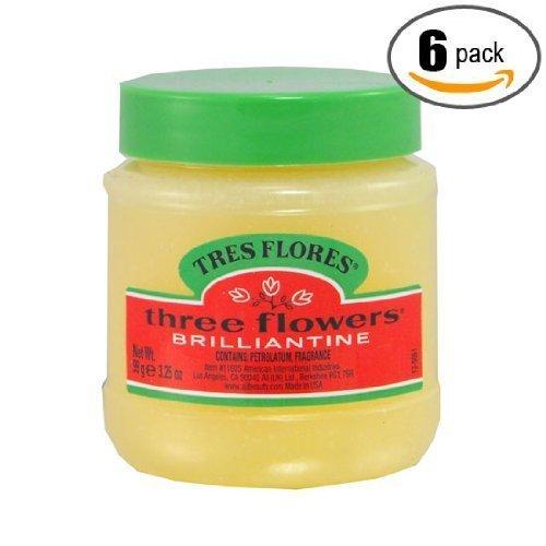 6pk - Three Flowers - Brilliantine - Tres Flores - Solid