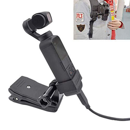Price comparison product image Vicstar DJI OSMO Pocket Clip Extended Bracket Accessories Multi-Function Universal Clamp Backpack Clip Portable Lightweight DJI Osmo Pocket Holder for Movie Journey Photography