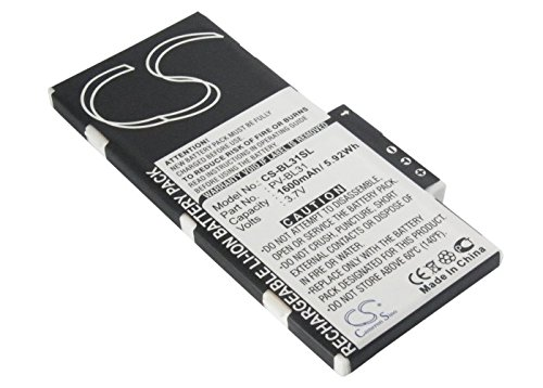 Cameron Sino 1600mAh Battery for Sharp PV-BL31, T-Mobile Sidekick iD, Sidekick LX, Sidekick LX-Blue, Sidekick LX-Brown, UTStarcom - Sidekick Lx Sharp