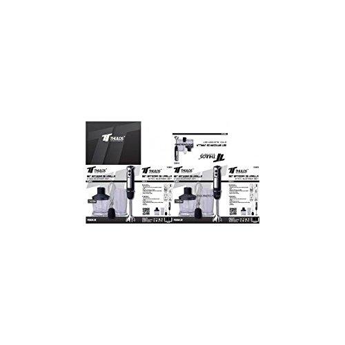 Kit Batidora de Mano profesional 750W - Batidora de Varilla - Trituradora comida: Amazon.es: Hogar