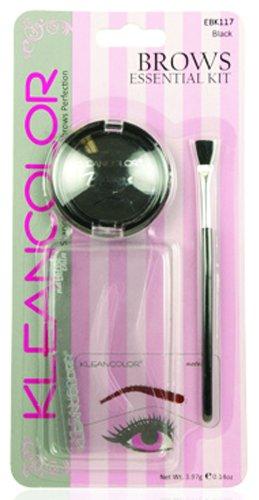 Kleancolor бровей Kit - черный (комплект из 2)