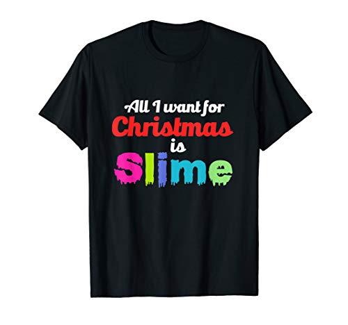 Christmas X-MAS Slime Lover Kids Gift Costume Tee Shirt ()