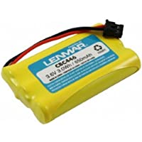LENMAR CBC446 3.6VOLTS 850mAh NICKEL-METAL HYDRIDE REPLACEMENT BATTERY FOR UNIDEN DCT SERIES CORDLESS PHONES. Fits: DC Uniden DCT646, DCT6465, DCT648, DCT6485, DCT736, DCT737, DCT738, DCT746M, DCT748, DCT7488, DCT7565, DCT758, DCX150, DCX210, DCX640, DCX700, DCX730, TCX800, TCX805, TCX860, TCX905, TCX930, TRU12803, TRU238, TRU446, TRU448, TRU4485, TRU5865, TRU5885, TRU8860, TRU8865, TRU8866, TRU8880, TRU8885, TRU9260, TRU9280, TRU9360, TRU9380, TRU9460, TRU9466, TRU9480, TRU9480, TRU9485, TRU9488, TRU9565. Replaces: Uniden BT-461, BT-446, BT-634, BT-909, BT-1004, BT-1005, BT-2499, GE - Sanyo GES-PC3F02, GE-TL26402, GP 80AAALH3BMX, 80AAALH3BMZ, Panasonic P-P102, Philips SJB519.X Series Cordless Phones.