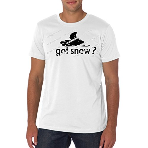 Got Snow - Snowmobiling - White - X-Large T-Shirt