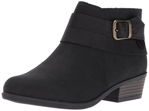 Clarks Women's Addiy Cora Ankle Bootie,Black,8 M US