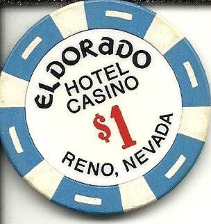 1 Eldorado Resorts Vintage Reno Nevada Casino Chip