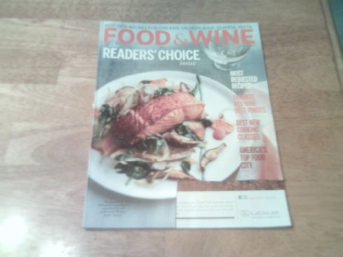 Food & Wine 2014 January - The Reader Choice Issue