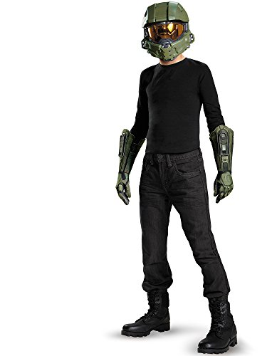 Master Chief Child Mask and Gloves Costume Kit]()