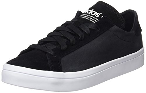 core ftwr core Baskets Femme White Black Noir Adidas Courtvantage Basses Black 0zwq0fRX
