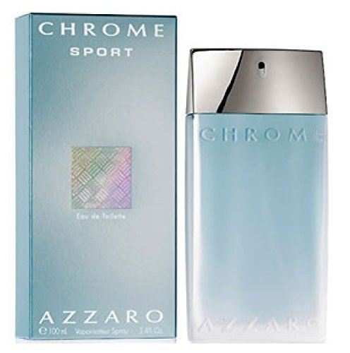CHROME SPORT by Azzaro Cologne for Men (EDT SPRAY 3.4 OZ)