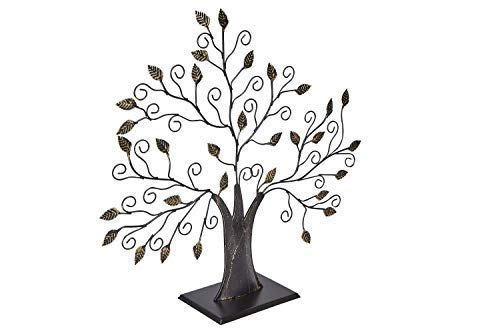 Klikel Family Tree Picture Frame Display with 10 Hanging Picture Photo Frames | Large 20 x 18 Metal Tree | 10 Ornamental 2x3 Frames by Klikel (Image #2)