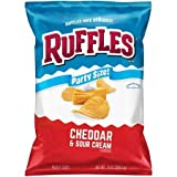 Expect More Ruffles Cheddar & Sour Cream Potato Chips Party Size, 6 ct. / 78 Oz.