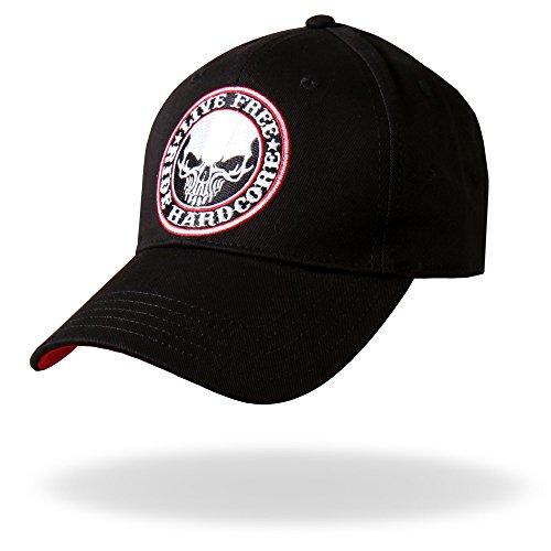 Skull Ball Cap (Black) ()