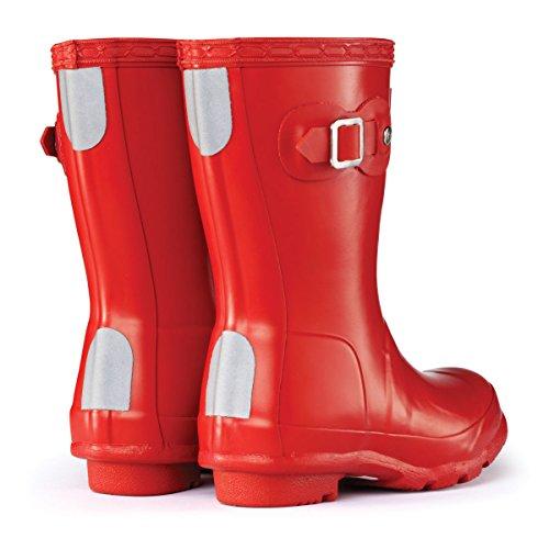 HunterOriginal - Botas  Unisex, para niños Rojo - rojo