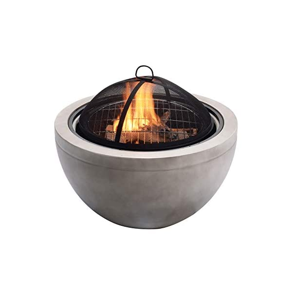 Peaktop HR30180AA Wood Burning Fire Pit