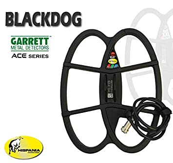 Hispania Technologies Plato Black Dog para Detector de Metales Garrett Ace: Amazon.es: Jardín