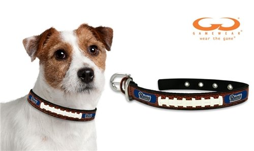 St. Louis Rams Dog Collar - Small by Hall of Fame Memorabilia