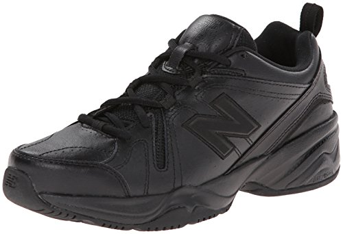 New Balance Women's WX608v4 Training Shoe, Black, 8 D US