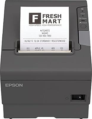 Epson C31CA85042 - Impresora térmica de Recibos, Negro, Plateado ...