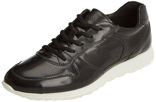 ECCO Sneak Ladies, Zapatillas para Mujer Negro (Black)