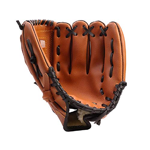 HAI+ Players Youth Tball/Baseball Glove Series, Fit for Beginner or Infielder,Left Hand Glove (Yellow, 9.5)