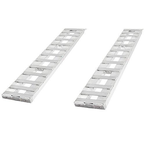 Aluminum Trailer Ramps (Rage Powersports 02-12-072-046-S Trailer Ramp (72