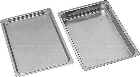 Gastronorm bandeja para horno GN 2/1 borde liso y 40 mm profundidad: Amazon.es: Hogar