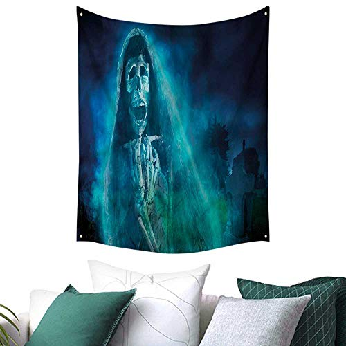 sunsunshine Halloween Dormitory Decorated Sand Tapestry Gothic Ghost