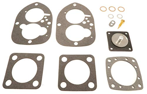 The ROP Shop | Carburetor Repair Kit with Accelerator Pump Diaphragm, Copper & Fibre - Diaphragm Sierra