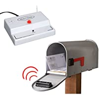 Mail Chime Wireless Transmitter & Audible Arrival Alert Receiver w/ Bright LED