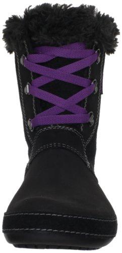 Crocs Berryessa Hiker Boot - Botas de cuero mujer negro - Schwarz (Noir (Black/Black))