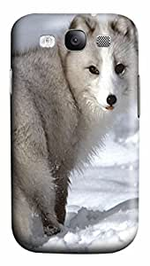 Arctic Fox Animal PC Case Cover for Samsung Galaxy S3 I9300