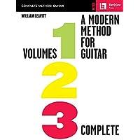 Modern Method for Guitar: Volumes 1, 2, 3