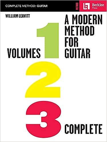 Modern Method for Guitar: Volumes 1, 2, 3 Complete: Amazon.es ...