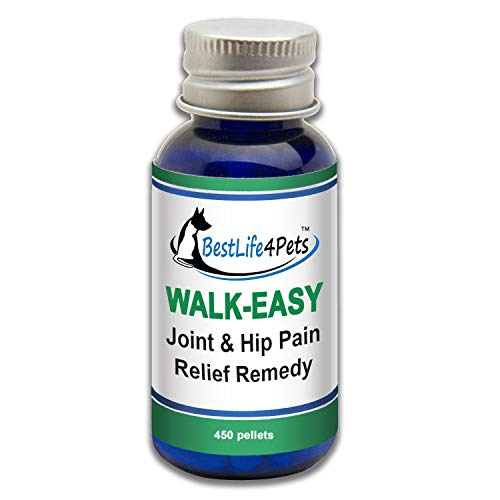 WALK-EASY Hip and Joint Supplement for Dogs and Cats; Advanced Anti-inflammatory Support and Arthritis Pain Relief Pills | Natural, Chemical-free and Easy To Give Your Pet