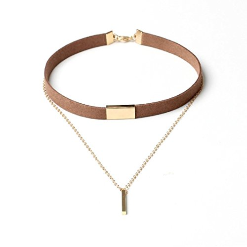 start-girls-women-chokers-gold-chain-necklace-collar-couble-jewelry-gold