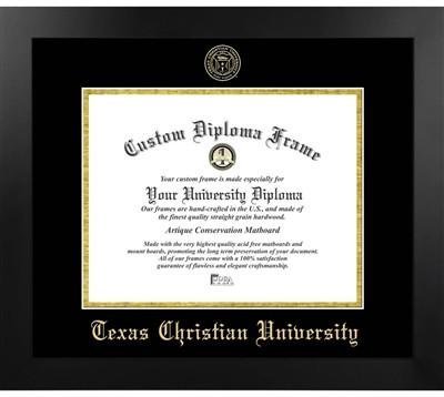 Texas Christian University Most Popular Diploma Frame by Diploma Frame Deals