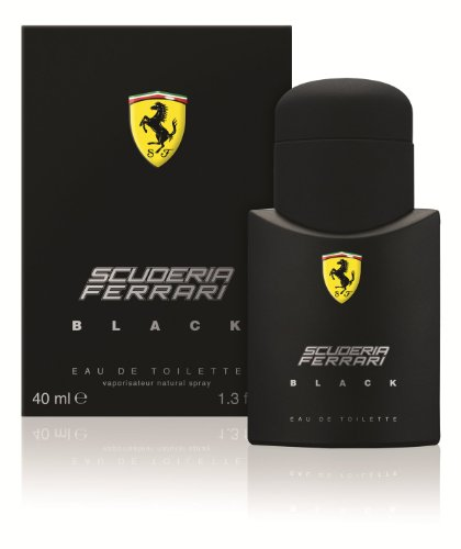 Ferrari Black By Ferrari For Men. Eau De Toilette Spray 1.3 - Shop Ferrari Gift