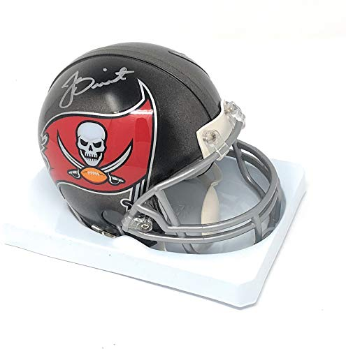 Jameis Winston Tampa Bay Buccaneers Signed Autograph Mini Helmet Winston GTSM Player Hologram Certified from Mister Mancave