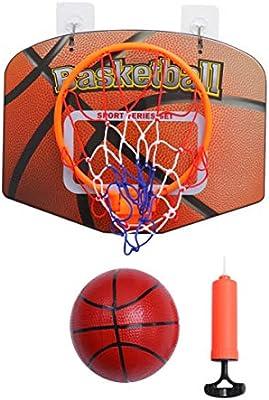 BESPORTBLE Mini Juego de Aro de Baloncesto Adhesivo Interior sobre ...